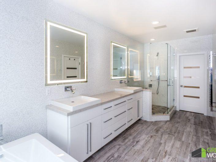 Garret Residence-Master Bath