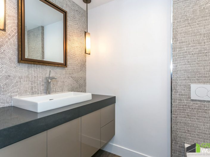 GARRETT RESIDENCE – Guest Bath/Powder Room